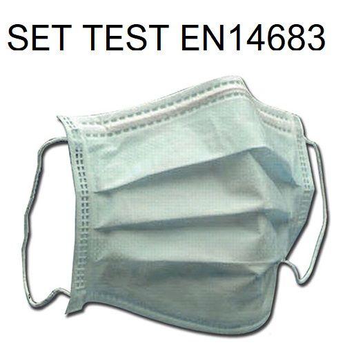 Test pressione differenziale su mascherine EN 14683:19