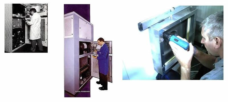 Quality services for laboratories Branca Idealair