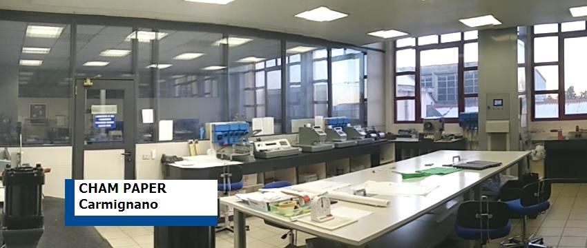 CHAM PAPER QC laboratory