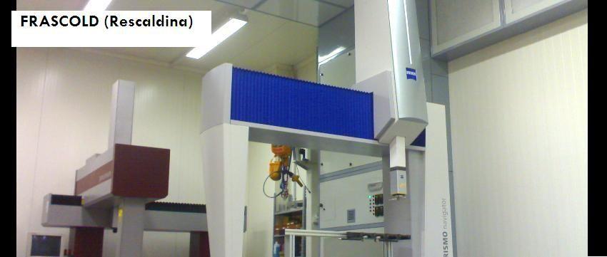 FRASCOLD (Rescaldina) Laboratorio CMM Branca Idealair
