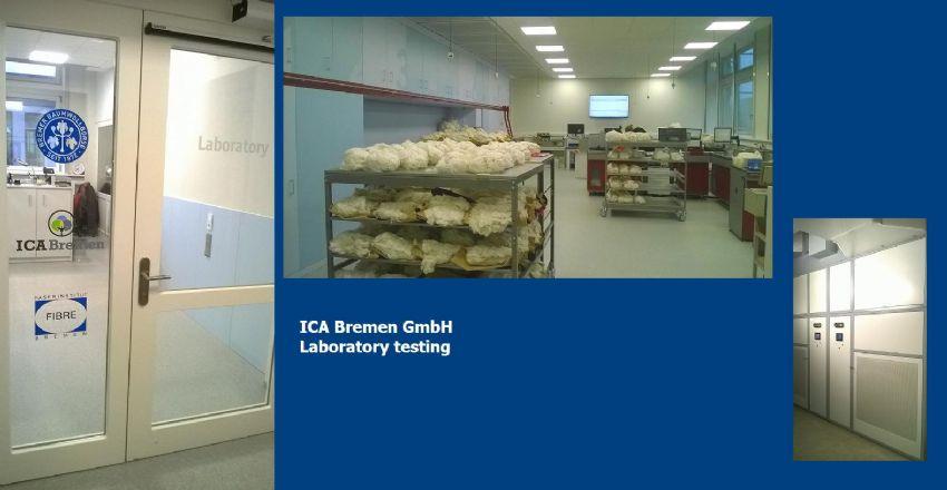 Bremer Baumwollboerse (Brema) Laboratorio per la classificazione fibre cotone condizionato da Branca Idealair