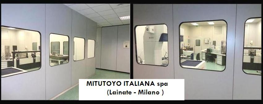 MITUTOYO Spa Metrological lab Branca Idealair