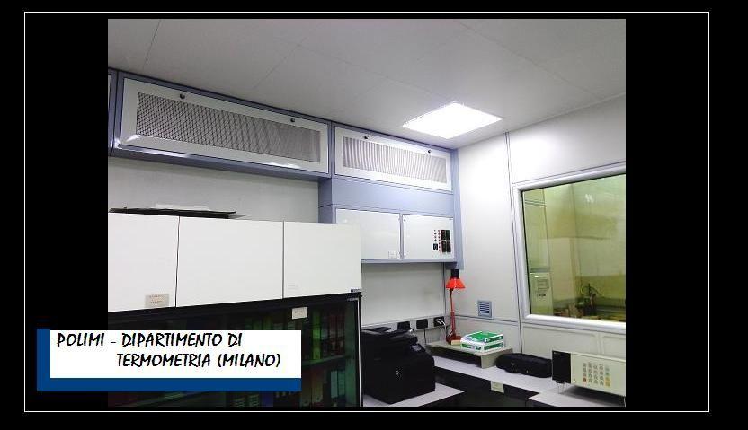 Politecnico di Milano Dipartimento Termometria Laboratorio Branca Idealair