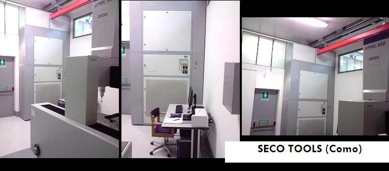 SECO TOOLS CMM Temperature close-control room by Branca Idealair