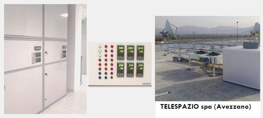 TELESPAZIO Spa Maser Clock controlled room by Branca Idealair