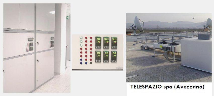 TELESPAZIO Spa Locale controllato per orologi atomici Branca Idealair