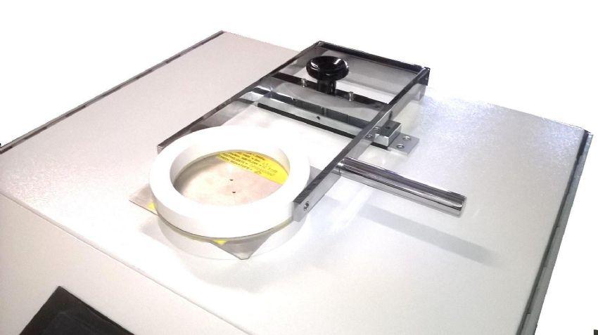 Prova di calibrazione Air permeability 37SC