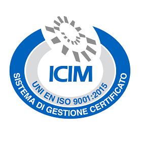 Certificato di conformità ICIM CFA-000629-00