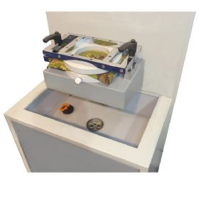 Pressione idrostatica su tessuti con Branca Water Proof 35S